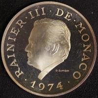 100 Fr. 1974 Reg. Jub.