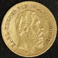 10 Mark Karl 1875 ss
