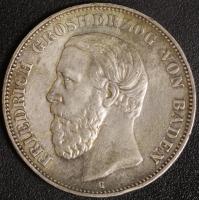 5 Mark Friedrich 1891