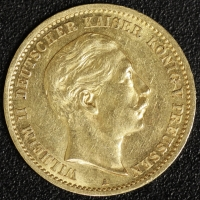10 Mark Wilhelm II 1910