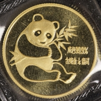 1/4 Oz AU Panda 1982 in Folie