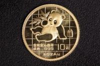 1/10 Oz AU Panda 1989