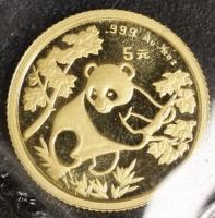1/20 Oz AU Panda 1992 in Folie