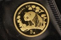 1/20 Oz AU Panda 1997 in Folie