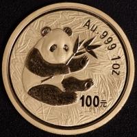 1 Oz AU Panda 2000