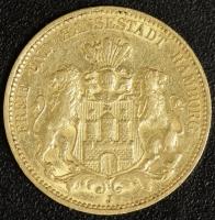20 Mark Hamburg 1876 ss