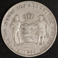 Ausbeutetaler 1866 ss