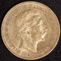 20 Mark Wilhelm II 1900