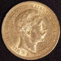 20 Mark Wilhelm II 1894