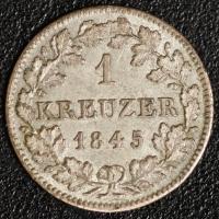 Kreuzer 1845