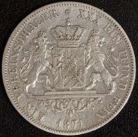 Vereinstaler 1871 Ries