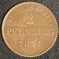 2 Pfennig 1871