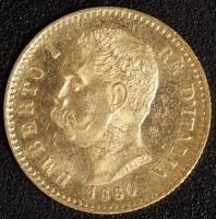 20 Lire Umberto I. 1880