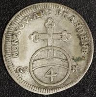 4 Kreuzer (Batzen) 1704