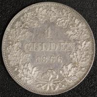 Gulden 1866