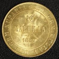 10 Markkaa 1882, Alexander III