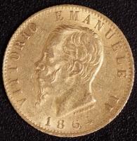 20 Lire Victor Emanuel II. 1864