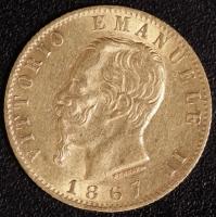 20 Lire Victor Emanuel II. 1867