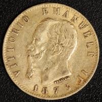 20 Lire Victor Emanuel II. 1873