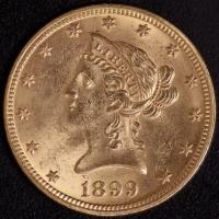 10 $ Liberty 1899   ss-vz
