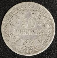 50 Pfennig 1877 B