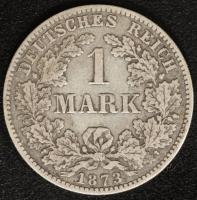 1 Mark 1873 C s-ss