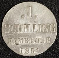 1 Schilling 1851