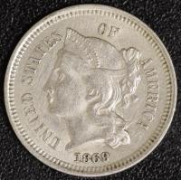 3 Cent 1869