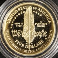 5 $ Verfassung 1987 PP