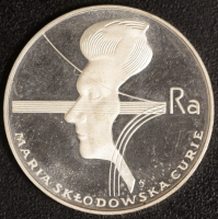 100 Zloty Curie 1974