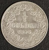 1/2 Gulden 1845