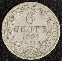 6 Grote 1861