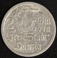 2 Gulden 1923 Kogge