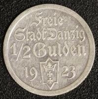 1/2 Gulden 1923 Kogge