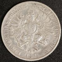 Taler 1871 A Wilhelm