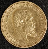 10 Mark Wilhelm II 1898 ss-vz