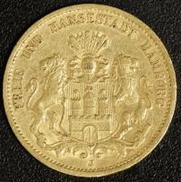 20 Mark Hamburg 1878 ss