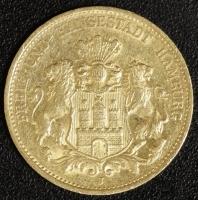 20 Mark Hamburg 1887 ss