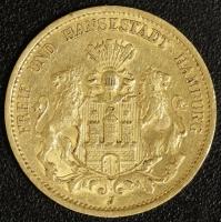 20 Mark Hamburg 1877 ss