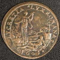 Rechenpfennig 1601