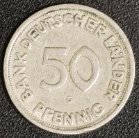50 Pfennig BDL 1950 G