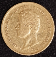 20 Lire Karl Albert 1838