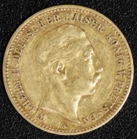 10 Mark Wilhelm II 1896