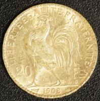 20 Fr. 1908 Hahn