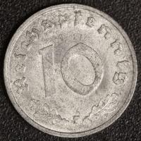 10 Pfennig 1947 F vz