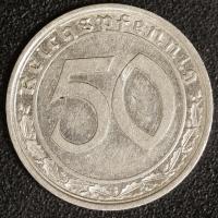 50 Pfennig 1939 F