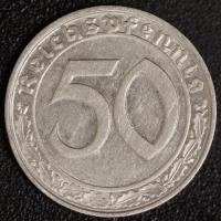 50 Pfennig 1939 J