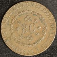 80 Reis 1831 R