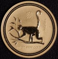 2004 Affe - 1/4 Unze Lunar I GOLD