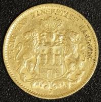 10 Mark Hamburg 1896